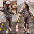 suit Paul Jacobs / Paul Jacobs grey 110cm,120cm,130cm,140cm,150cm,160cm female winter Korean version Long sleeve + pants 2 pieces routine There are models in the real shooting Zipper shirt nothing Cartoon animation other children Learning reward K21517 Class B Other 100% Chinese Mainland Shanghai