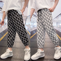 trousers Paul Jacobs / Paul Jacobs female 110cm,120cm,130cm,140cm,150cm,160cm Black, off white spring trousers Korean version There are models in the real shooting Leggings Leather belt middle-waisted other Don't open the crotch Other 100% Class B Chinese Mainland Shanghai Shanghai