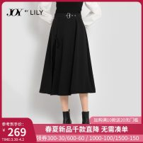 skirt Winter 2020 150/58A/XS 155/62A/S 160/66A/M 165/70A/L 170/74A/XL 510 black 510 black a longuette commute High waist A-line skirt Solid color Type A 25-29 years old 120409C6955510 More than 95% Lily / Lily polyester fiber Lace up asymmetric bandage Ol style Polyester 100%