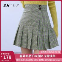 skirt Spring 2021 S M L XL 314 green fruit 314 green fruit a Short skirt commute High waist Pleated skirt lattice Type A 25-29 years old 121159C6920314 More than 95% other Lily / Lily polyester fiber Bandage Ol style Polyester 100% Same model in shopping mall (sold online and offline)