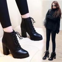 Boots 34 35 36 37 38 39 40 Black [10 cm down] black [7 cm down] black [7 cm mesh] black [10 cm mesh] PU Other / other Super high heel (over 8cm) PU PU