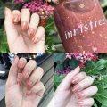 Nail color China no Normal specification Innisfree Nursing Nail Polish Chromaticity Any skin type 3 years 2016 July Innisfree/ real color nail polish Real color nail polish