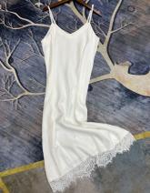 Dress Autumn 2020 Black, white Average size