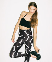 Casual pants White cloth with black background S,M,L LO-001 LAZY OAF