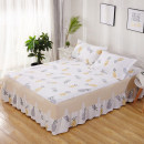 Bed skirt 120cmx200cm, 150cmx200cm, 180cmx200cm, 200cmx220cm, 48 * 74cm pillow case, a pair of single beat does not include mail cotton Other / other Plants and flowers