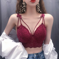 undergarment covering the chest and abdomen Spring 2021 Average size singleton  routine Sweet Self cultivation 18-24 years old Solid color Lace princess