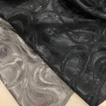 Fabric / fabric / handmade DIY fabric flax Grey weaves silver, Navy weaves purple 41% (inclusive) - 50% (inclusive)