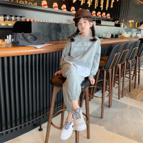 suit cicikiki grey 110cm,120cm,130cm,140cm,150cm,160cm female spring and autumn other YX20133 Class B 7, 8, 14, 3, 6, 2, 13, 11, 5, 4, 10, 9, 12 Chinese Mainland Guangdong Province Foshan City