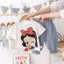 suit 12 months, 18 months, 2 years, 3 years, 5 years, 6 years Other / other summer female Short sleeve + pants Korean version 2 pieces Thin cotton Cartoon animation Condom nothing No model in real shooting Cotton 95% others 5% children Expression of love Chinese Mainland Zhejiang Province