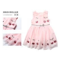 Dress spring and autumn Europe and America other Splicing style Solid color female Other / other 12 months, 18 months, 2 years old, 3 years old, 4 years old, 5 years old, 6 years old, 7 years old, 8 years old, 9 years old, 10 years old, 11 years old, 12 years old, 13 years old, 14 years old 191220040
