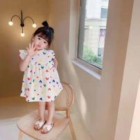Dress Korean version Dot Class B Suspender skirt / vest skirt Zhejiang Province Shaoxing Chinese Mainland female Other / other 7, 8, 14, 3, 6, 2, 13, 11, 5, 4, 10, 9, 12 A-line skirt other Other 100% summer white 90cm,100cm,110cm,120cm,130cm