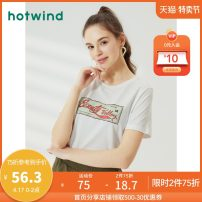 T-shirt 04 white 14 Pink S M L XL Summer 2020 Short sleeve Crew neck Straight cylinder Regular routine street cotton 96% and above 18-24 years old other letter Hot wind F01W0208 printing Cotton 100% Same model in shopping mall (sold online and offline) Sports & Leisure
