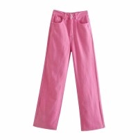 Jeans Spring 2021 As shown in the figure XS,S,M,L trousers High waist 18-24 years old