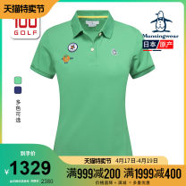 Golf apparel GR00 NV00 M L XL XXL female Munsingwear / wanxingwei t-shirt  XJWLO201C Spring 2020 yes