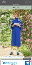 Dress Autumn 2020 blue Size 38