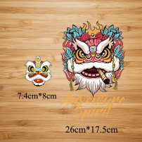 Cloth stickers 1017 / little / lion, 1018 / big / Lion