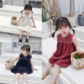 Dress female Other / other Other 100% summer lady Skirt / vest Solid color other A-line skirt Class B 18 months, 2 years old, 3 years old, 4 years old, 5 years old, 6 years old, 7 years old, 8 years old