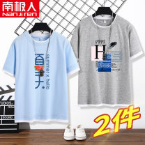 T-shirt NGGGN 110cm 120cm 130cm 140cm 150cm 160cm 165cm male summer There are models in the real shooting cotton Cartoon animation Cotton 100% NJRSGQ0137 Class B Quick drying Summer 2021