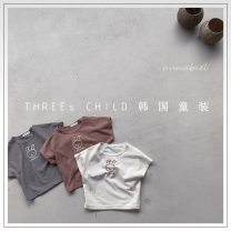 T-shirt Coffee (reservation), off white (reservation), black grey (reservation) Other / other XS(80cm),S(90cm),M(100cm),L(110cm),XL(120cm) neutral other other 18 months, 2 years old, 3 years old, 4 years old, 5 years old, 6 years old, 7 years old, 8 years old