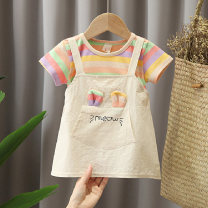 Dress female Other / other Other 100% spring and autumn Korean version other cotton other 12 months, 9 months, 18 months, 2 years, 3 years, 4 years Chinese Mainland