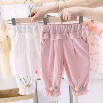 trousers Other / other female 80, 90, 100, 110, 120 summer Cropped Trousers Korean version No model Leggings Leather belt cotton Open crotch Other 100% Class B 12 months, 9 months, 18 months, 2 years, 3 years, 4 years Chinese Mainland