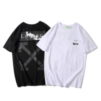 T-shirt Youth fashion White, black routine 170/84A,175/88A,180/92A,185/96A Others Short sleeve Crew neck standard daily Four seasons youth Cotton wool cotton 90% (inclusive) - 95% (inclusive)