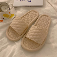 Household slippers / sandals / cotton slippers / household shoes 36-37,38-39,40-41,42-43,44-45 Slipper summer female Sliver 1.5cm (including) - 3.5cm (excluding) PVC Simplicity One line PVC PVC