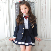 Children's sports suit Bodybuilding other As shown in the picture, a suit skirt and a white shirt Other / other other 130,140,150,160