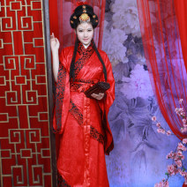 Hanfu 96% and above Spring 2013 gules S,M,L,XL nylon