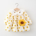 Dress yellow female Other / other 66cm,73cm,80cm,85cm,90cm,95cm,100cm,105cm Cotton 80% other 20% spring and autumn princess Long sleeves Broken flowers cotton Princess Dress other 12 months, 3 years, 3 months, 18 months, 9 months, 6 months, 2 years Chinese Mainland Zhejiang Province Hangzhou