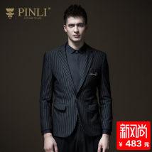 man 's suit Fashion City black Pinli routine L175 B183106074 Polyamide fiber (nylon) 86.3% polyurethane elastic fiber (spandex) 8.4% polyester fiber 5.3% Autumn of 2018 Pure e-commerce (online only)
