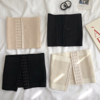 Body shaping waist cover / waist clip M [suitable for 85-105 kg], l [suitable for 105-120 kg], XL [suitable for 120-135 kg], XXL [suitable for 135-150 kg] Black a, skin color a, black B, apricot B Other / other routine Solid color LCD428 Simplicity One piece polyester fiber summer
