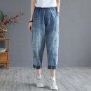 Jeans Summer 2021 7072,6691 M,L,XL Straight pants Thin money Thin denim