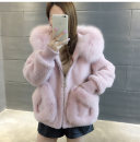 leather and fur Winter 2020 Other / other S,M,L,XL have cash less than that is registered in the accounts Long sleeves commute Hood other zipper Imitation fur lady 18-24 years old pocket 91% (inclusive) - 95% (inclusive)