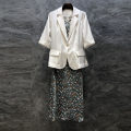 Fashion suit Summer 2021 S,M,L Figure 1, figure 2 25-35 years old 96% and above polyester fiber
