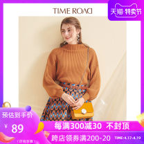 Fashion suit Autumn of 2018 S/160 M/165 L/170 Caramel 18-25 years old Time road / Domino Polyester 100%