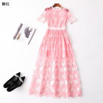 Dress Summer 2020 pink S,M,L,XL Other / other 31% (inclusive) - 50% (inclusive)