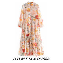 Dress Summer of 2019 Decor 1949, Navy 2758 S,M,L Mid length dress Long sleeves street Others Europe and America