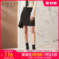 skirt Spring 2021 S M L black Short skirt commute High waist A-line skirt Solid color 25-29 years old LDYQ11413406 91% (inclusive) - 95% (inclusive) L. West / longvinstein polyester fiber zipper Polyester fiber 94% polyurethane elastic fiber (spandex) 6%