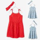 Dress Red dot [hair belt], blue flower [hair belt] female A pony needs driving 94cm / 3 years old, 104cm / 4 years old, 110cm / 5 years old, 116Cm / 6 years old, 128cm / 8 years old, 140cm / 10 years old, 152cm / 12 years old, 158CM / 14 years old Viscose (viscose) 100% summer Skirt / vest