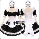 Cosplay women's wear skirt goods in stock Over 14 years old Including: hair band + collar + clothes + half length skirt + 2 hand rings + 2 leg rings + back bow Animation, original, film and television, games L,M,S,XL,XXL Chinese Mainland Miracle warm