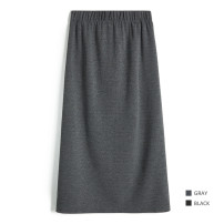 skirt Spring 2021 M, L The shadow of the moon vanishes, and the night is dark longuette Retro High waist High waist skirt Solid color Type H 25-29 years old 6H83 31% (inclusive) - 50% (inclusive) other other fold