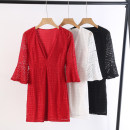Dress Spring 2020 White, black, red S,M,L Mid length dress MOfEA MOCER
