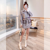 Fashion suit Winter 2021 S,M,L,XL wathet 25-35 years old Justvivi style T00004551