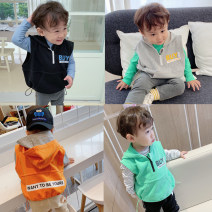 Vest male Black, gray, green, orange 80cm, 90cm, 100cm, 110cm, 120cm, 130cm, 140cm, model size: 80 Chaoma Feifei spring and autumn routine There are models in the real shooting zipper other 2 years old, 3 years old, 4 years old, 5 years old, 6 years old, 7 years old