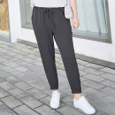 Women's large Summer 2021 T1,T2,T3,T4,T5,T6 trousers singleton  street easy thin Solid color Polyester, others MH186066 MS she / mu Shan Shiyi 25-29 years old pocket 96% and above Ninth pants Sports & Leisure
