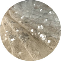Fabric / fabric / handmade DIY fabric chemical fiber White half rice, apricot half rice Loose shear piece Others other clothing Chinese style South smoke Chinese Mainland