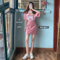 Fashion suit Spring 2021 S=1,M=2,L=3,XL=4 Pink top + skirt S&M1830310