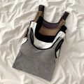 Vest sling Spring 2021 white , black , grey , dark grey , khaki , New year's red Average size singleton  have cash less than that is registered in the accounts Self cultivation commute camisole Solid color 18-24 years old 96% and above nylon Open line decoration