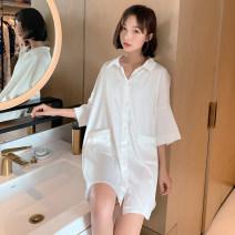 Nightdress Soft Honey white Average size summer